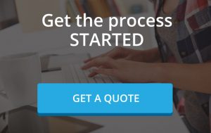 Get the Process Started with a blue get a quote button Life Insurance Florida