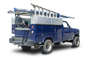Statutory Bonds Blue contractor work truck